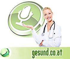 Gesundheitspodcasts auf www.gesund.co.at