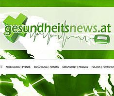 gesundheitsnews.at – Gesundheitsnachrichten aus Österreich nun online